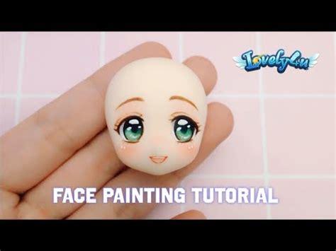 draw  cute faceclay tutorial anime figure