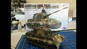 Building The Tamiya King Tiger Including Painting And