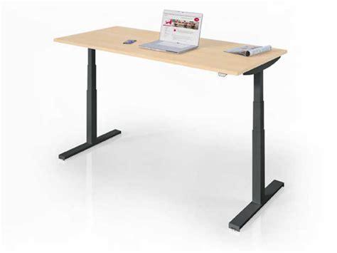 bureau hauteur ajustable bureaux réglables en hauteur easy up i bureau