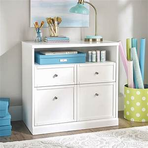 Better, Homes, U0026, Gardens, Craftform, Sewing, And, Craft, Storage, Cabinet, With, Drawers, White, Finish