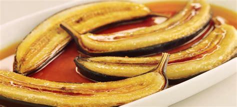 bananes au   dessert simple  rapide la recette
