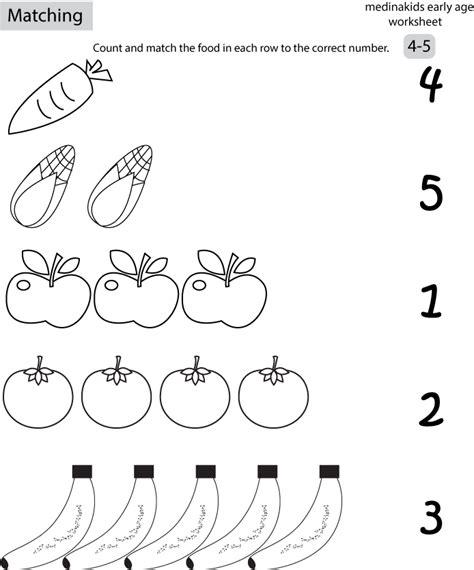 matching activities for preschoolers printables 6 best images of number matching printables matching 798