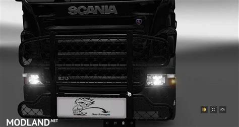 scania rjl hypro bullbar mod for ets 2
