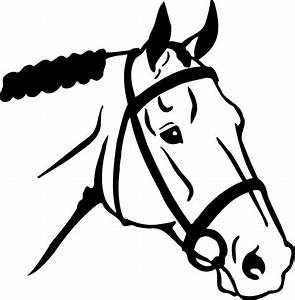 Horse Head Template Free For All Sketchfu - ClipArt Best ...