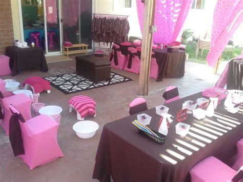 Make Up Decorations by Deluxe Spa Party Themes For Kids Party Rental