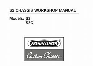 Freightliner S2   S2c Chassis Workshop Service Repair