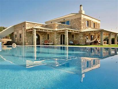 Villa Pool Armonia Meer Pitsidia Strand Grundriss