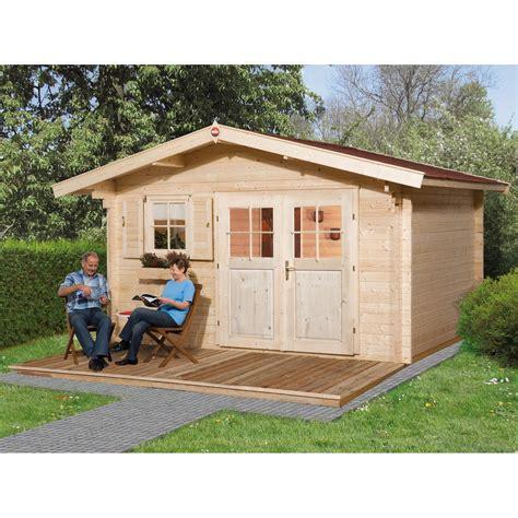 gartenhaus metall günstig kaufen weka holz gartenhaus verona d bxt 380 cm x 380 cm kaufen bei obi