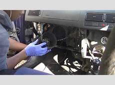 VW Golf Mk4 Resistor & Blower Motor Removal Simple, Easy