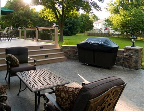 composite decks kansas city azek traditional patio