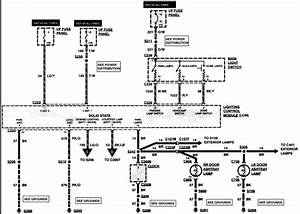 Needed Wiring Diagram For 1995 Lincoln Town Car No Dome Lights