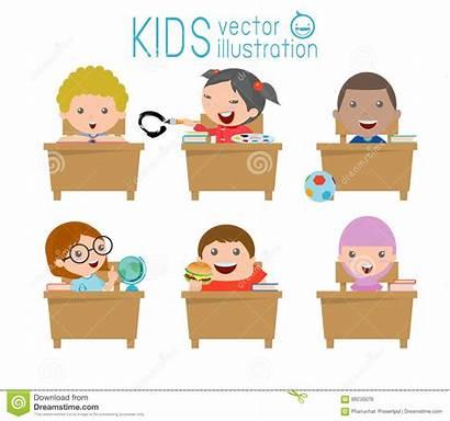 Klassenzimmer Kinder Jonge Klaslokaal Geitjes Kind Scherzt