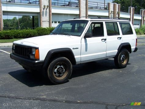 jeep cherokee white 1995 stone white jeep cherokee sport 51669994 photo 9