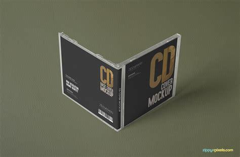 jewel case free plastic cd mockups zippypixels