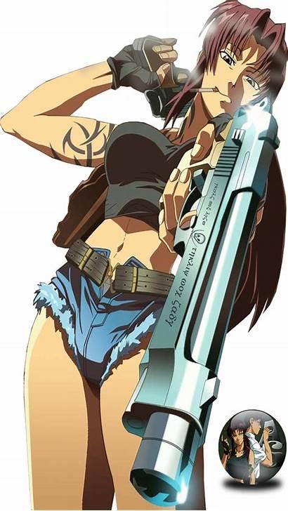 Lagoon Revy Render Deviantart Anime Manga Transparent