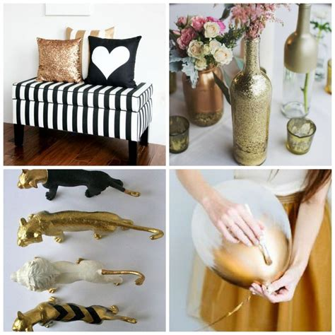 diy gold bedroom decor baby shower in black white and gold chic original