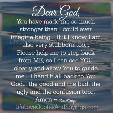 Lord Please Guide Me Quotes