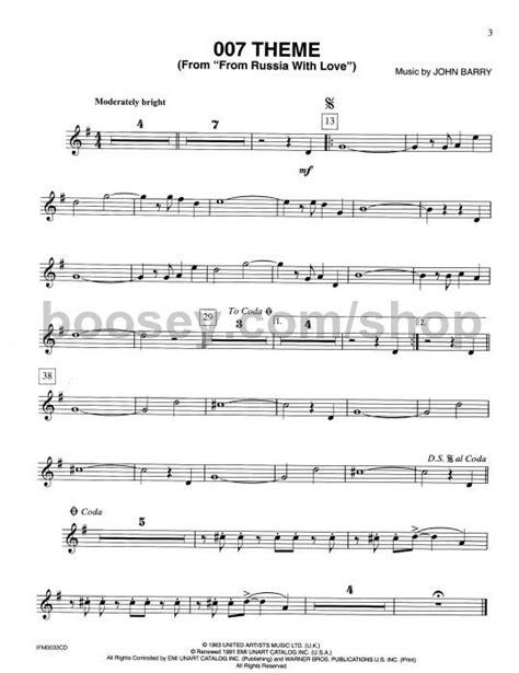 james bond theme trumpet solo