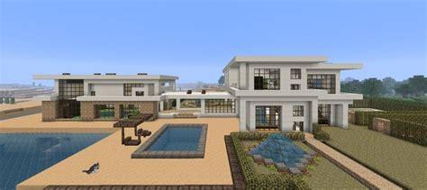 Large Modern Beach House Minecraft