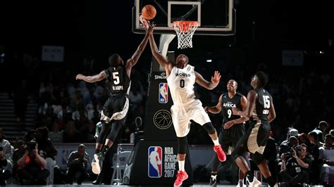 Nba Stars Showcase Talents In Exhibition To Cap Week Of