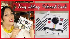 D I Y  Sliding Polaroid Birthday Card