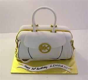 Micheal Kors Handbag Cake !!! - CakeCentral com
