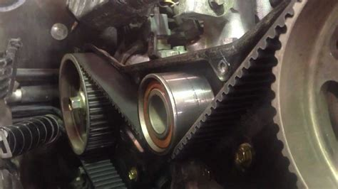 toyota  startup  timing belt replacement youtube
