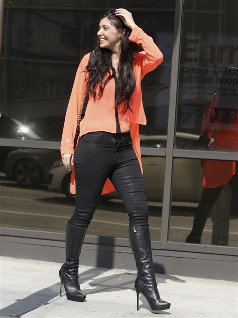 brittny gastineau knee high boots knee high boots