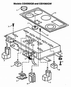 Thermador Electric Cooktop Parts