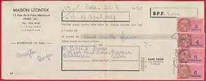 6 Chevaux Fiscaux Equivalence : timbres fiscaux sur facture 1957 fdcollector ~ Medecine-chirurgie-esthetiques.com Avis de Voitures
