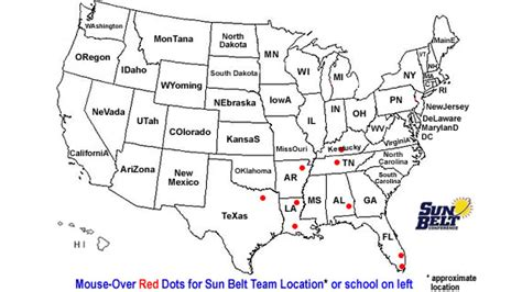 Ncaa Sun Belt Team Locations Fbs Division 1-a Schools Where Teams Play Sun-belt How To Check Timing Belt Condition Honda Accord 2010 Acura Mdx Replacement Schedule Change A On Civic 1998 Lincoln Impinger Pizza Oven Gas Conveyor Much Replace 2007 Pilot Serpentine 2003 Dodge Grand Caravan Shirt Stays India