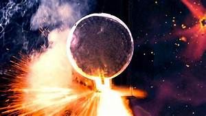 Inside Exploding Giant Firework Shell  3200 Fps Slow