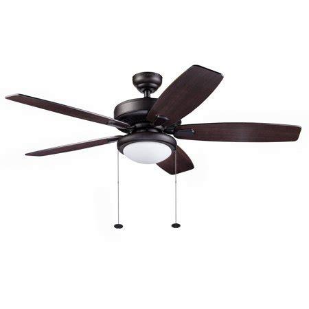 outdoor ceiling fans walmart 52 quot honeywell blufton outdoor ceiling fan bronze