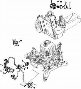 30 Stihl Ts420 Fuel Line Diagram
