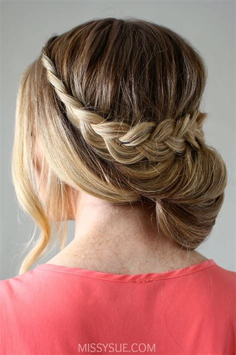 style hair 17 best images about peinados on updo braid 3701