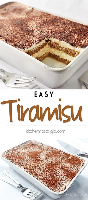 Kiwilimon_dessertsrecipes_english published september 24, 2020 4 views. Easy Tiramisu Recipe | Kitchen Nostalgia
