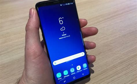 galaxy s9 on review