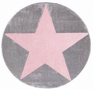 Rosa Grau Teppich : teppich rund mit stern grau rosa ~ Markanthonyermac.com Haus und Dekorationen