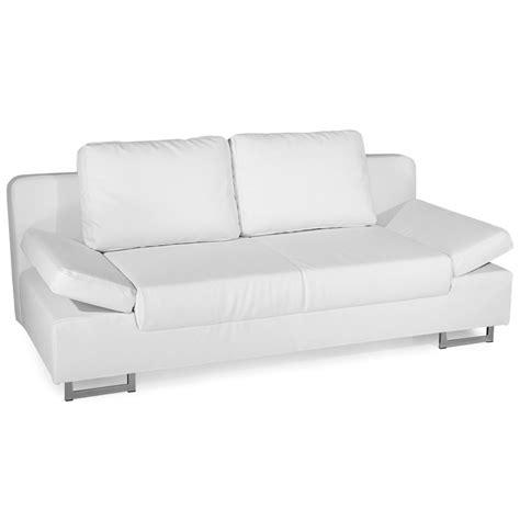 canapé simili canape simili cuir blanc