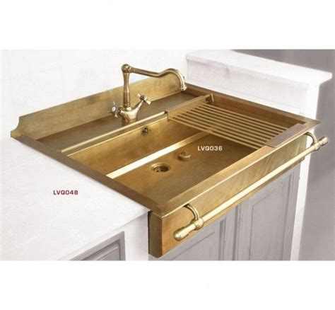 brass kitchen sink from the right bank today s crush gold brass bronze