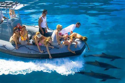 Zodiac Boat Hawaii by Dolphin Zodiac Boat Tour Kauai Honeymoon
