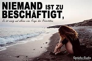Traurige Bilder Zum Nachdenken : spruch zum nachdenken priorit ten setzen spr che suche ~ Frokenaadalensverden.com Haus und Dekorationen