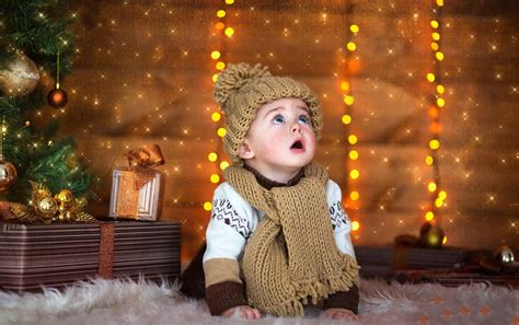 Hd Gifts Cap Child New Year Baby Kids Phone Wallpaper