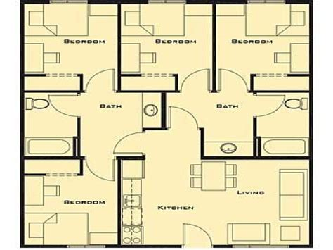 4 br house plans small 4 bedroom house plans 17 best 1000 ideas about small house plans on pinterest small