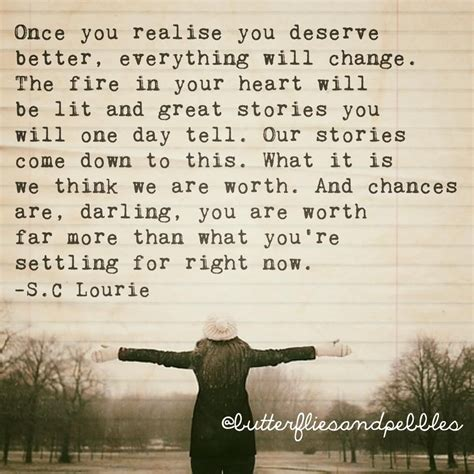 You Deserve Better Poems Quotes