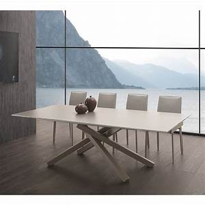 Tavolo allungabile design moderno ivy for Tavolo moderno design