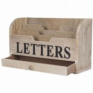 gisela graham natural distressed wooden letters rack desk With distressed wooden letters for sale