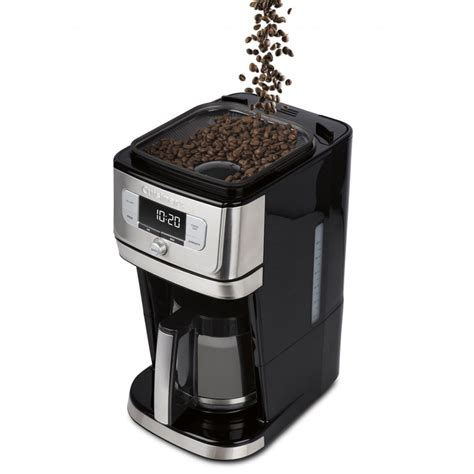 2 find the right coffee maker with grinder for you. Cuisinart BURR GRIND & BREW Coffee Maker with Grinder