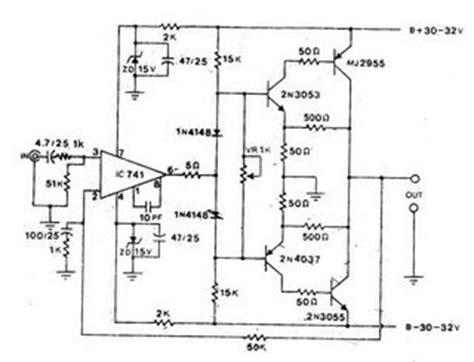 Electronics Circuits Power Amp Ocl