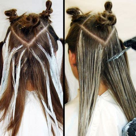 image result  balayage step  step pictures hair